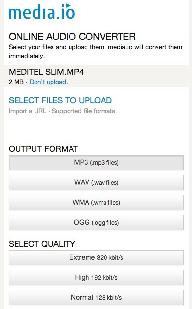 Convert Any Video File Into MP3, WAV, Ogg, WMA and More with Media.io | Online Video Publishing | Scoop.it