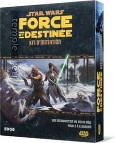 KIT D'INITIATION FORCE ET DESTINEE (STAR WARS) | Jeux de Rôle | Scoop.it