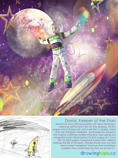 Il recrée en photo les rêves dessinés des enfants malades - Doctissimo (Blog)   Clowns à l'hôpital   Scoop.it
