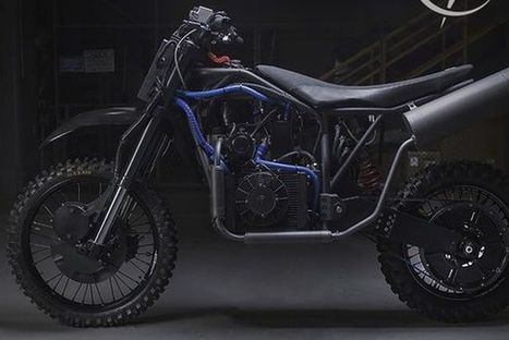 These 'stealth motorcycles' DARPA commissioned could run on nearly any fuel | Heron | Scoop.it