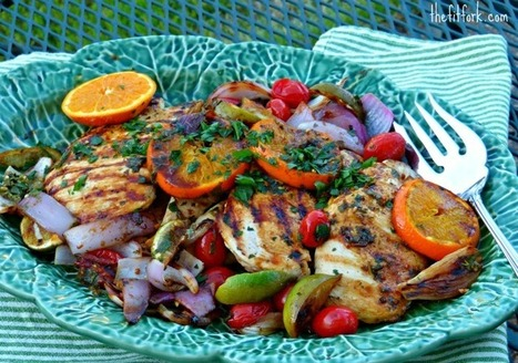 #HealthyRecipe | Mojo Chicken Breast with Citrus | The Man With The Golden Tongs Goes All Out On Health | Scoop.it