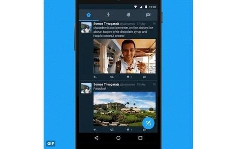 La aplicación de Twitter para Android ahora incluye un modo nocturno | Aprendiendoaenseñar | Scoop.it