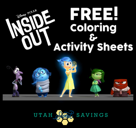 Disney Pixar Movie Inside Out: FREE Activity Sheets & Coloring Pages! | Socio-Emotional Learning | Scoop.it