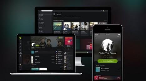 Spotify se oscurece para facilitar el acceso a su música | lecturas finde | Scoop.it