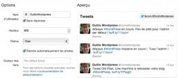 Comment afficher vos tweets récents dans votre blog WordPress | DIGITAL NEWS & co | Scoop.it