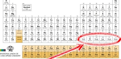 The periodic table gets four new official additions | Real Estate Plus+ Daily News | Scoop.it