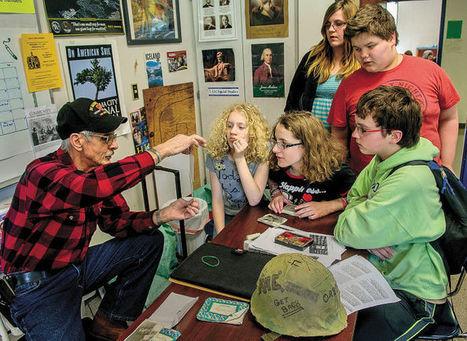 Vietnam veterans bring personal experiences to Rainier classrooms - Longview Daily News | Veterans | Scoop.it