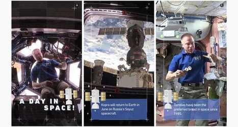 La Nasa fait vivre«une journée dans l'espace» sur Snapchat   Actualité Social Media : blogs & réseaux sociaux   Scoop.it