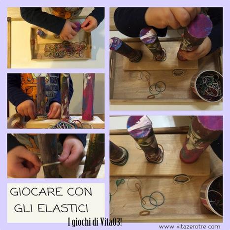 Vita a zero-tre: Il gioco con gli elastici | www.vitazerotre.com | Scoop.it