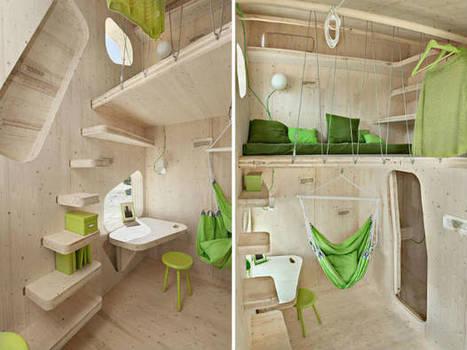 Smart Student Unit: la micro-casa in legno da 10mq - Rinnovabili | S.G.A.P. - Sistema di Gestione Ambiental-Paesaggistico | Scoop.it
