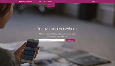 Microsoft PowerApps: Φτιάξε τη δική σου επαγγελματική εφαρμογή - Nocturnal | Infinity24.gr | Scoop.it
