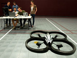 Scientists Guide Flying Robot with Their Thoughts | Five Regions of the Future | Scoop.it