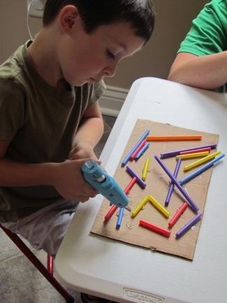 We used a glue gun today to create in prek! | Teach Preschool | Scoop.it