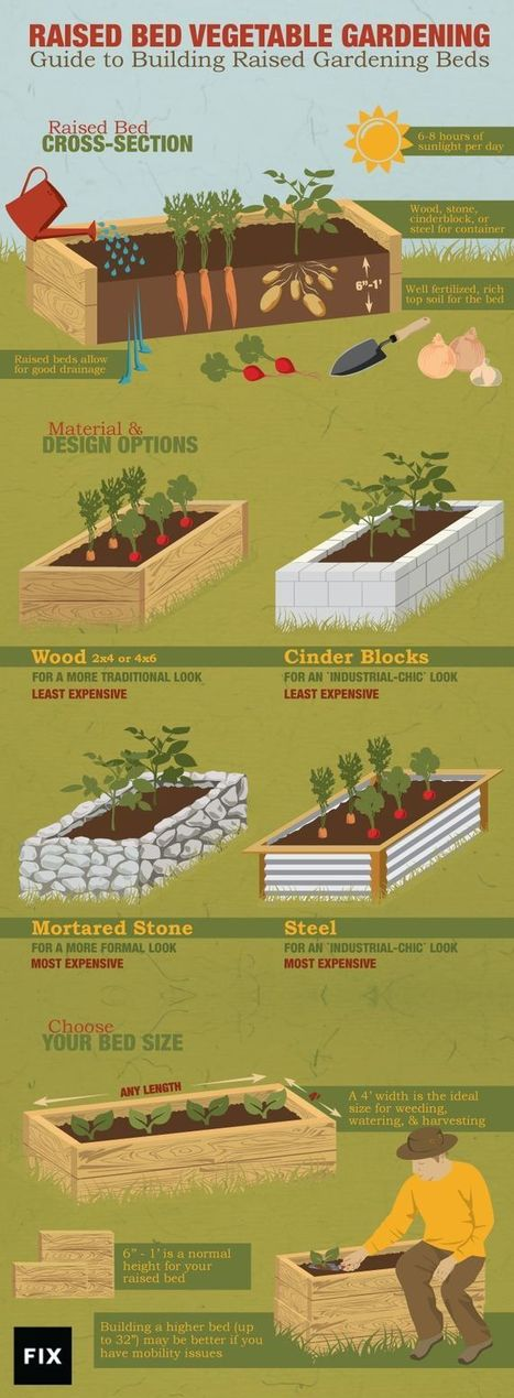 A Guide To Building Raised Gardening Beds | Gardens and Gardening | Scoop.it