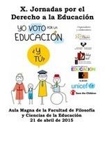 X Jornadas por el Derecho a la educación mañana 21 abril en FICE | Pedalogica: educación y TIC | Scoop.it