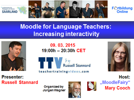 "Recording of ""GLOBINAR"" with Russell Stannard: Moodle for Language Teachers: Increasing interactivity 