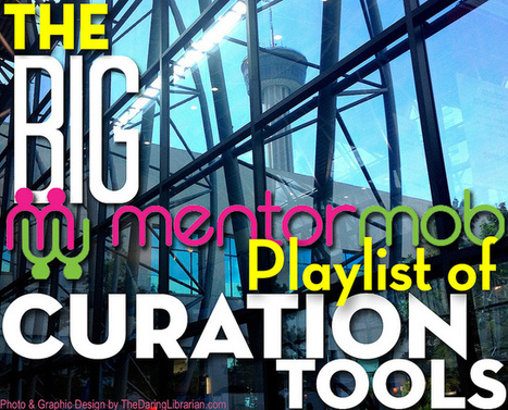 The BIG MentorMob Playlist Of Curation Tools Cover | Curation as a tool for teaching and learning | Scoop.it