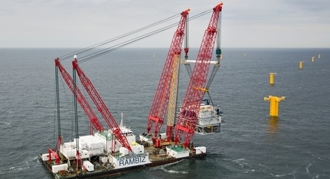 Northwind substation in the sea | Belgian offshore wind energy news | Scoop.it