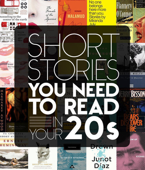 29 Short Stories You Need To Read In Your Twenties | Book  and Movie Lists | Scoop.it
