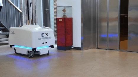Un robot que mata bacterias con rayos ultravioleta [Video]   Bits on   Scoop.it