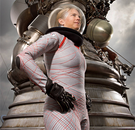 This Spacesuit for Exploring Mars Is a Form-Fitting Math Problem | Design | WIRED | Wearable Technology | Scoop.it