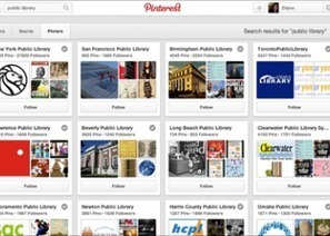 How Public Libraries are Using Pinterest | It's Time to Rediscover ... | Library | Scoop.it