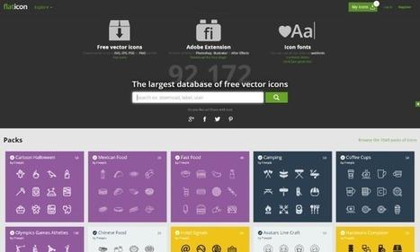 Banco de Iconos gratuitos: ¿En que lugares puedo ponerlos en mi web? • Silo Creativo | Educacion, ecologia y TIC | Scoop.it