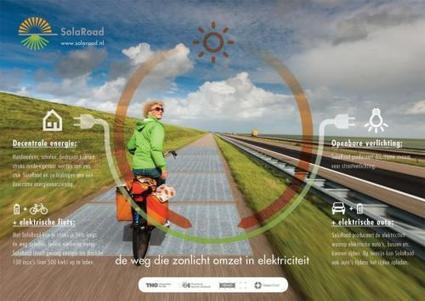SolaRoad: World's first solar cycle path to open in the Netherlands | Chasing the Future | Scoop.it