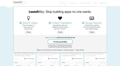LaunchSky | entrepreneur, social media and new technology | Scoop.it