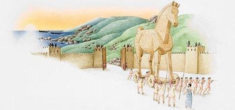El caballo de Troya. Leyendas cortas de la mitología griega | Comprensión lectora | Scoop.it