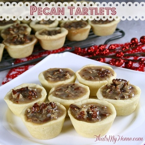 #Recipe Pecan Tartlets - Recipes, Food and Cooking   Food   Scoop.it