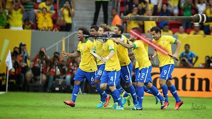 La stratégie d'attaque du Brésil enfin…   Humour et pub détounée   Scoop.it