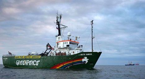 Arctic Sunrise: la Russie place le reste de l'équipage en détention - RTBF Monde   # Uzac chien  indigné   Scoop.it