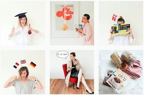Elle réalise un CV tout en images sur Instagram - Mode(s) d'emploi | Management et recrutement, génération-culture Y, prospective sur les nouveaux métiers liés à l'impact de la culture connectée | Scoop.it