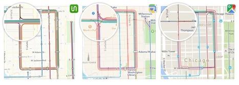 Transit Maps: Apple vs. Google vs. Us — The Startup — Medium | User Experience, Usability and Web Optimization | Scoop.it