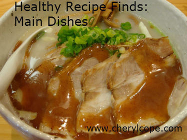 Healthy Recipe Finds: Main Dishes | Cheryl Cope | Truly Healthy Recipes | Scoop.it