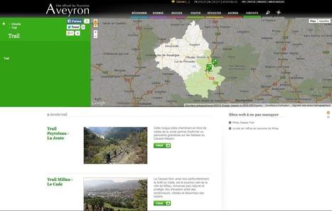 Les nouvelles pages «TRAIL» pour l'Aveyron | L'info tourisme en Aveyron | Scoop.it