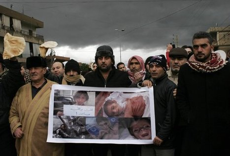 Starving Syrians in Madaya Are Denied Aid Amid Political Jockeying | Geographic and Sustainability Literacy | Scoop.it