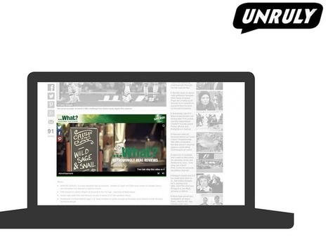 News Corp To Buy Unruly For $176M To Drive More Video AdViews | Digital | Scoop.it