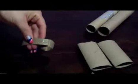 Manualidades con Material Reciclaje: ESTRELLAS DECORATIVAS ... | Taller Artesanal Moxi | Scoop.it