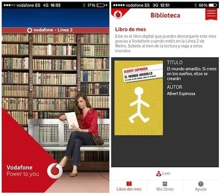 Engagement: #Vodafone regala e-books en la Linea 2 del #metro de #Madrid | Empresa 3.0 | Scoop.it