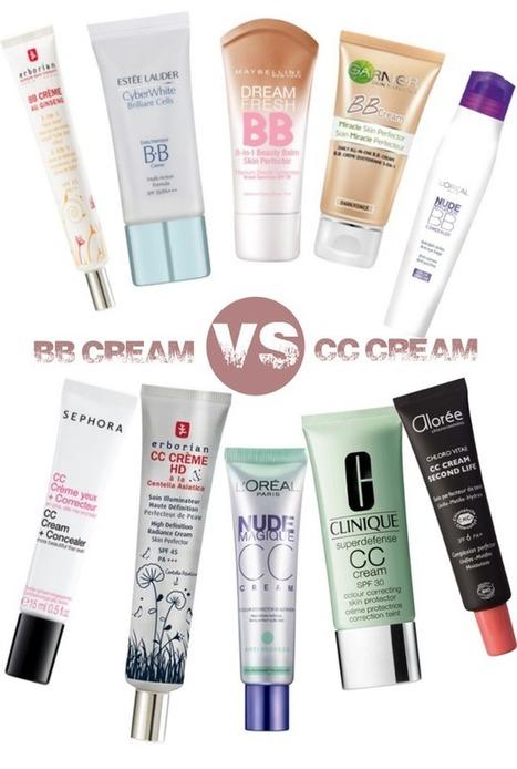 Actus beaute - BB Cream contre CC Cream : quelles différences ? | Cosmetic & Beauty | Scoop.it