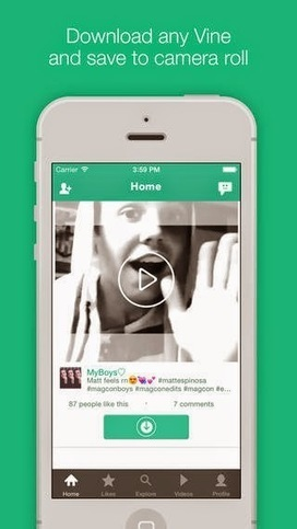 VineDrive - Vine downloader for iPhone and iPad | Software Download | Scoop.it