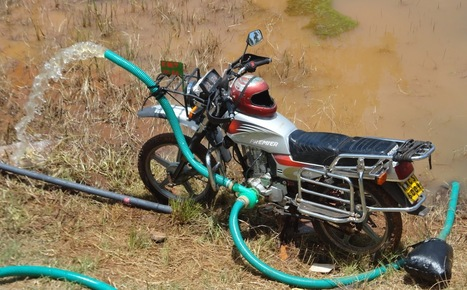 Vanguard farmers turn to motorbikes to irrigate farms | Future of agriculture knowledge resource centres | Scoop.it