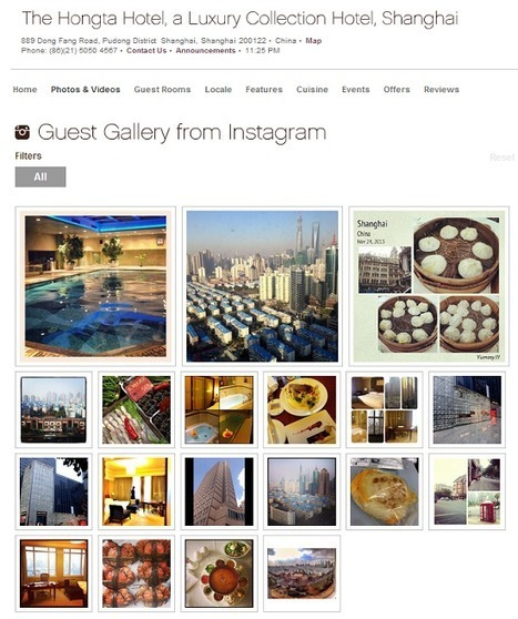 Starwood launches Guest Gallery system using Instagram photos   Best Practices Brand & Social Media   Scoop.it