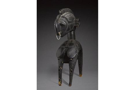 Exceedingly rare 3000 year old ritual bird-shaped pestle on offer at Bonhams New York | Art Daily | Kiosque du monde : Afrique | Scoop.it