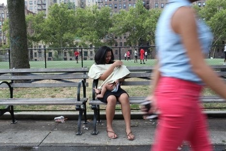City mothers are becoming more comfortable breast-feeding in public - Metro.us   New York Parenting   Scoop.it