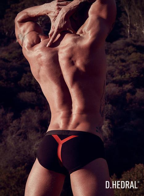 Tyler James Wears D. Hedral Underwear No.4 - Shirtless Hunk Photos | FlexingLads | Scoop.it