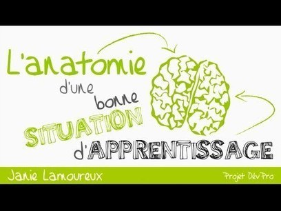 L'anatomie d'une situation d'apprentissage - par Janie Lamoureux - YouTube | Erakaskuntza - gogoetak | Scoop.it