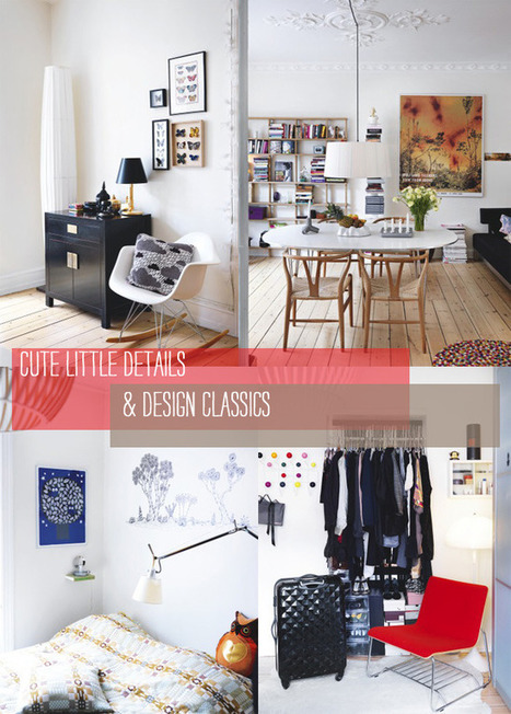 Home Tour: Cute Details & Design Classics | Interior Design & Decoration | Scoop.it